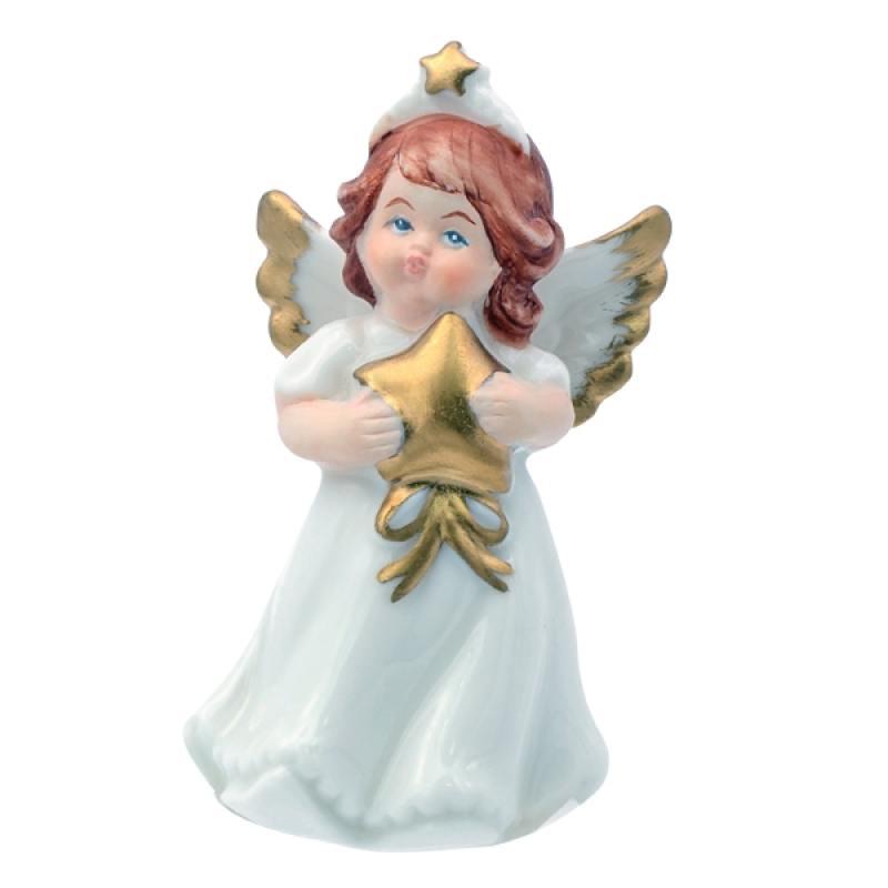 Сувенир АНГЕЛ, 7 см, керамика сувенир orient an01 ангел цв стекло высота 6см зеркальная подставка