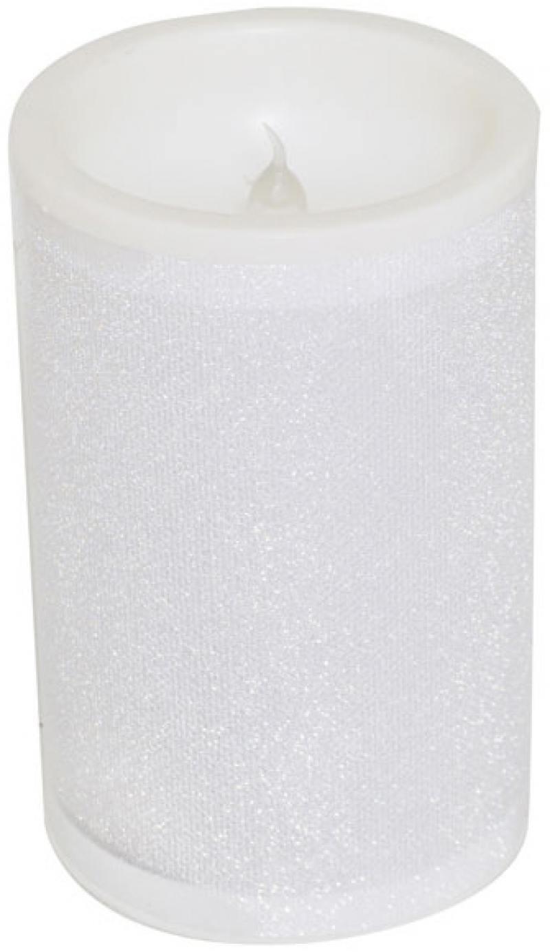 Украшение декоратbвное СВЕЧА светящаяся со сменой цветов, 7,5*11,5 см, LED, пластик