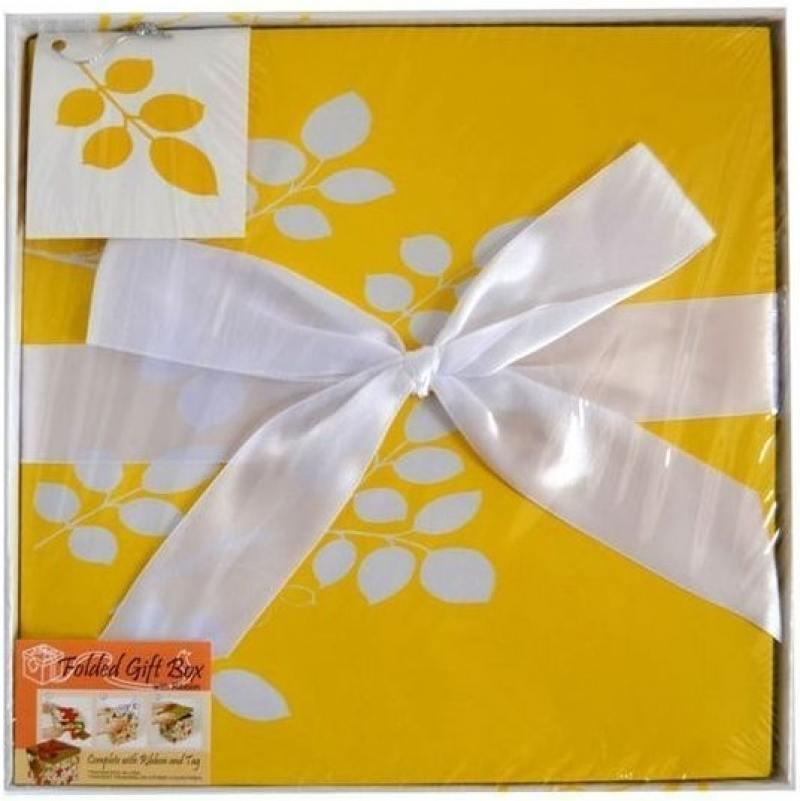 Коробка подарочная Golden Gift ЦВЕТОЧНЫЙ УЗОР 25x25x25 см PW1054/255 коробка подарочная golden gift клетка 25x25x25 см pw1055 255