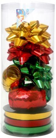 Набор для подарочной упаковки:бантики 3 шт.х9 см,лента 3 шт.х5 ммх20 м,лента 3 шт.х10 ммх20 м, ПВХ расширение конкуренции санто тефлоновая лента уплотнительная лента водонепроницаемой лентой пакет 10 1949 15 м