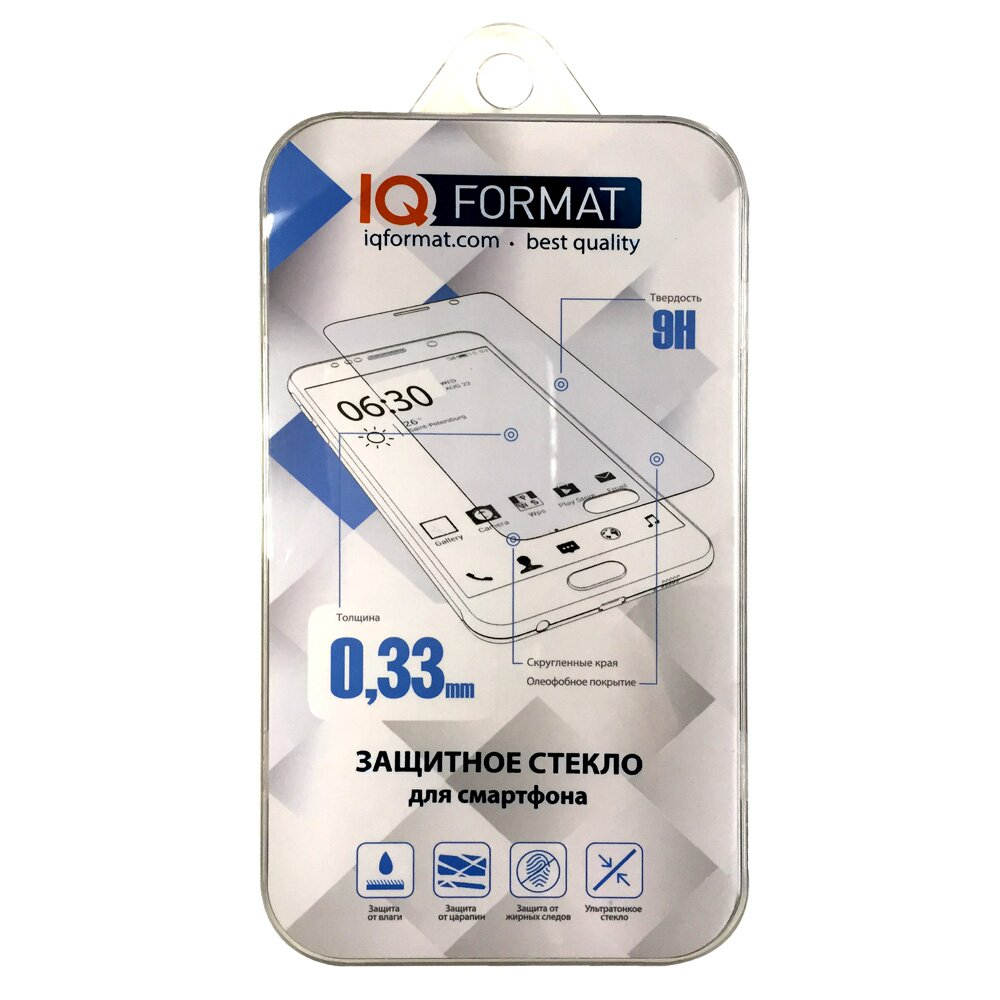 Защитное стекло IQ Format для Xiaomi M4 цена