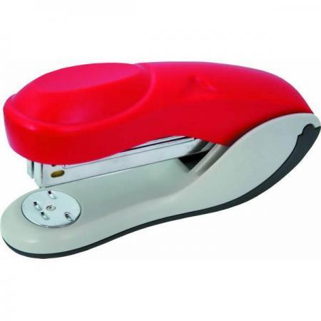 Степлер, скоба №24/6, на 20 листов, пластиковый корпус, красный степлер скоба 10 на 20 листов пластиковый корпус антистеплер красный