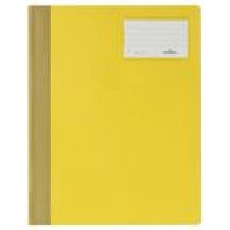 Папка-скоросшиватель MANAGEMENT FILE, инфо-окно, желтая