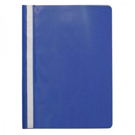 Папка-скоросшиватель, синяя, ф. А4, с перфорацией KS-320B/10/P папка скоросшиватель с европланкой ф а4 синяя