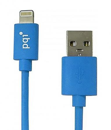 Кабель PQI  i-Cable USB-Lightning синий 1м 6PCB-001R0014A pqi 6ppu 12ir0004a