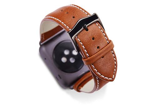 Ремешок dbramante1928 для часов Apple Watch 38мм кожа коричневый/серый AW38GTSG0633