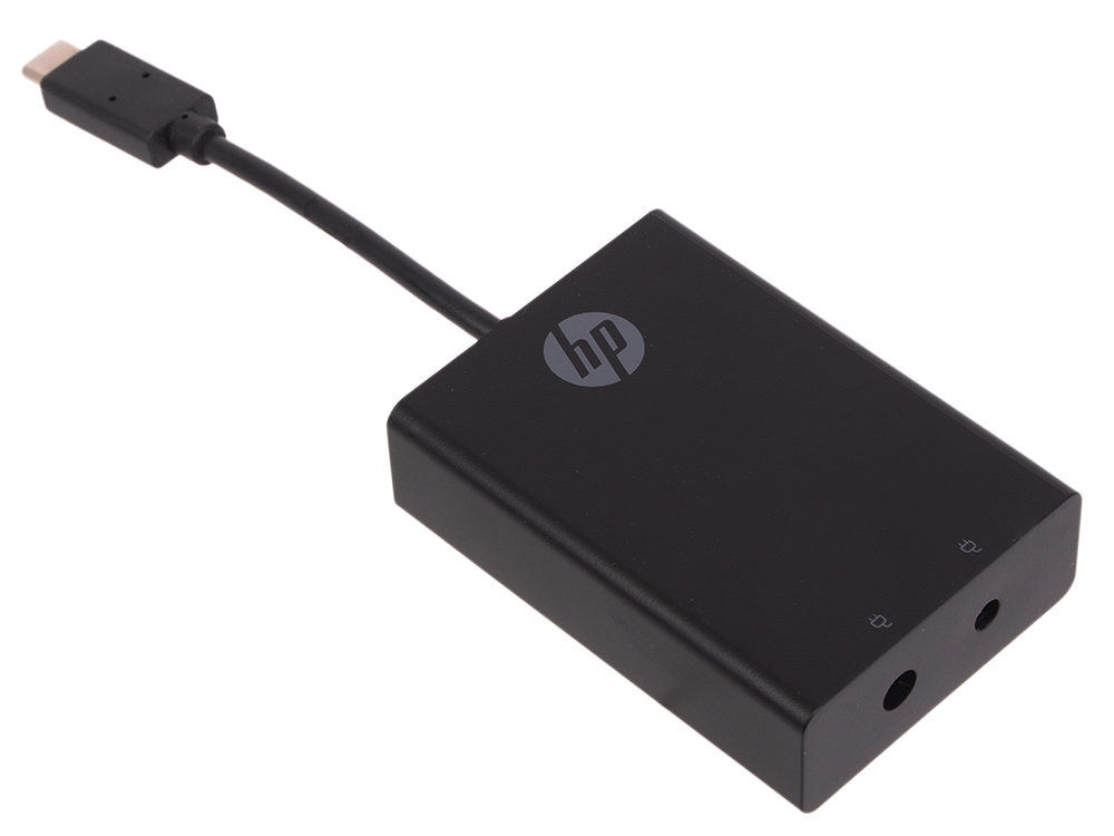 Адаптер HP Display Port to USB-C N2Z65AA адаптер hp p7z56aa usb c usb 3