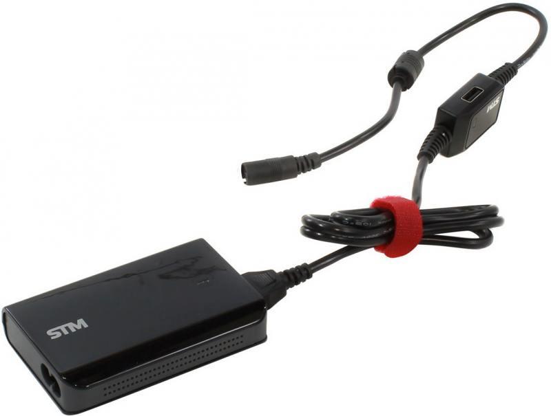 Блок питания для ноутбука Storm STM MLU70 универсальный 70 Вт 9 адаптеров черный цена и фото
