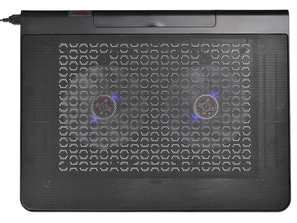 Подставка для ноутбука 17 Buro BU-LCP170-B214 металл/пластик 1400об/мин 23db черный