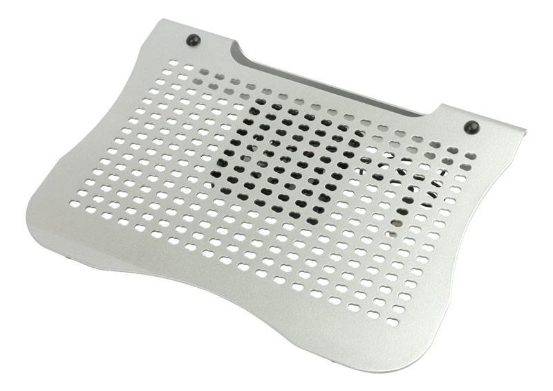 """Подставка для ноутбука 17"""" PC Pet NBS-31C алюминий 1600 об/мин 19db серебристый"""