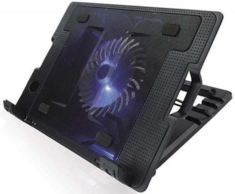 Подставка для ноутбука 15.6 Crown CMLS-926 265x370x50mm USB 700g черный