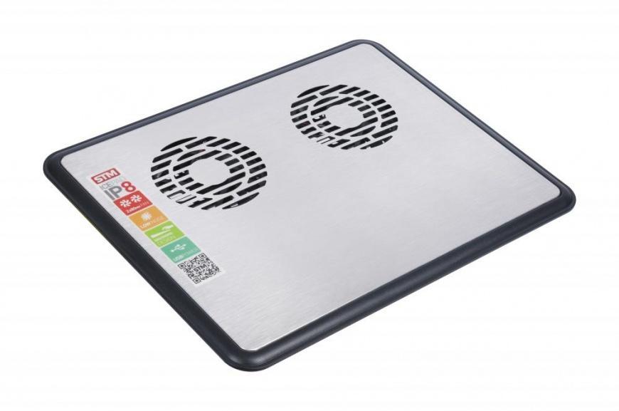 """Подставка для ноутбука 15"""" Storm STM Laptop Cooling IP8 80x80 1xUSB черный"""