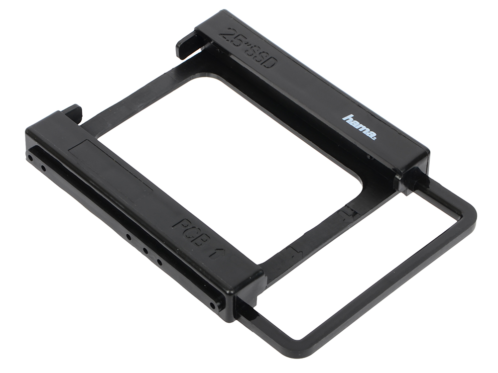 Переходник для SSD Hama H-39830 2.5 SSD в отсек 3.5 черный