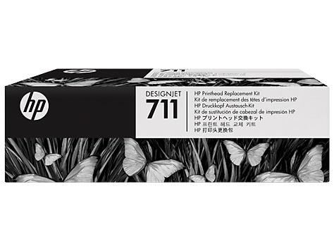 Комплект для замены печатающей головки HP C1Q10A №711 для Designjet T120/T520 high quality original refurbished for hp 711 hp711 print head compatible for hp designjet t120 t520 printhead