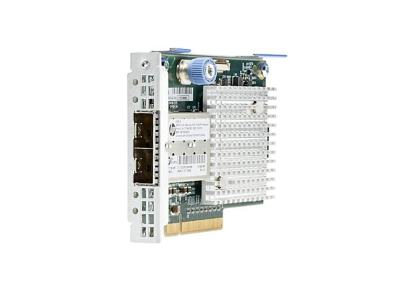Адаптер HP 570FLR-SFP+ Ethernet 10Gb 2P 717491-B21 адаптер dell x710 intel dual port 10gb sfp 540 bbiv