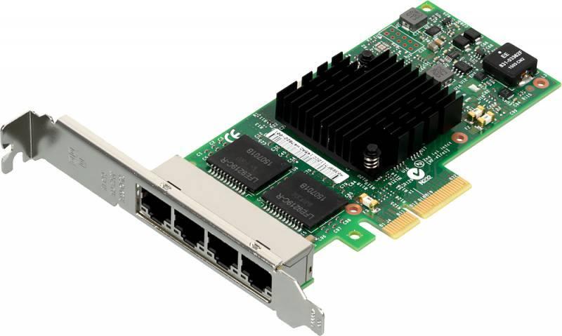 Адаптер Intel I350T4V2BLK 936716 кабель intel axxcbl875hdhd 936123