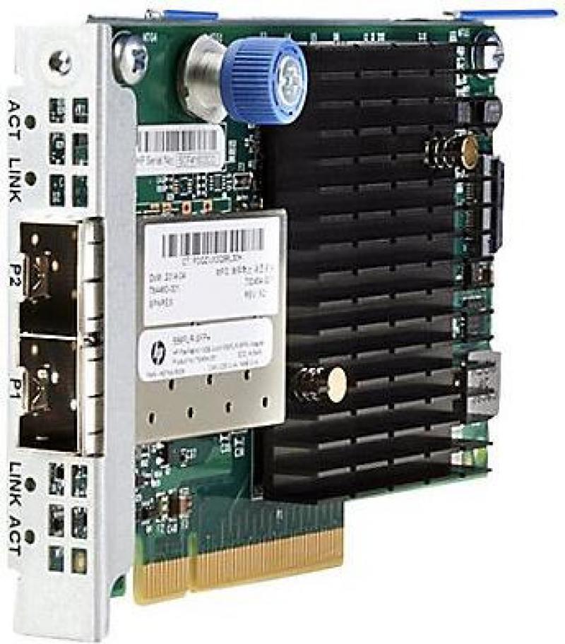 Адаптер HP 556FLR-SFP+ FlexFabric 10Gb 2P 727060-B21 адаптер dell x710 intel dual port 10gb sfp 540 bbiv