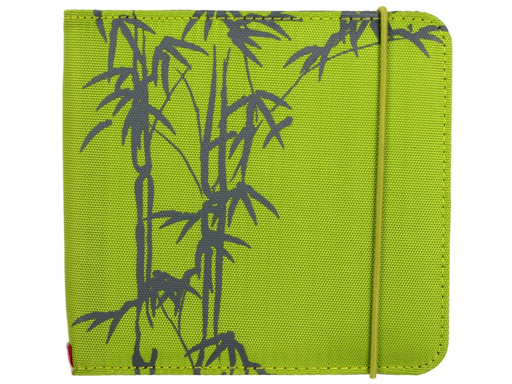 Портмоне HAMA Up to Fashion для 24 CD/DVD зеленый бамбук H-95668 цена и фото