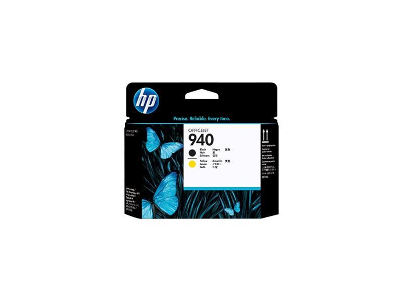 Печатающая головка HP C4900A №940 для Officejet Pro 8000/8500 черный и желтый картридж hp c4902ae 940 для officejet pro 8000 8500 черный