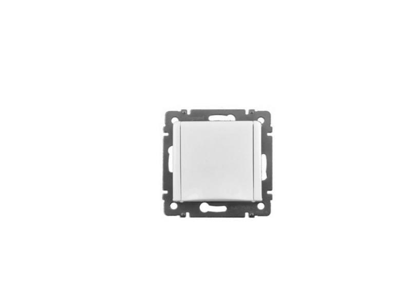 Картинка для Розетка Legrand Valena 2К+З с крышкой белый 774422