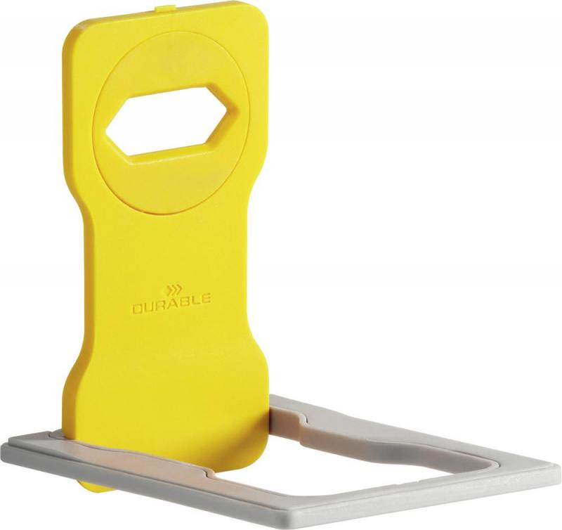 Держатель Durable Varicolor 7735-04 для смартфонов желтый comix durable 50 page 12 stapler w staples blue 3 pcs