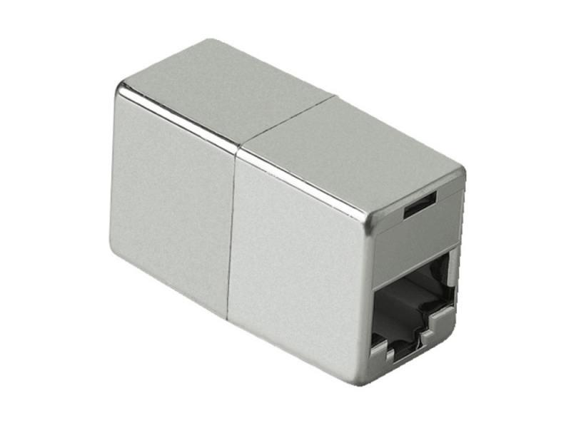 Адаптер Hama H-45047 8p8c (RJ45) (f-f) удлинительный CAT5e mosunx advanced 10pcs cat5 cat5e network connector rj45 metal cable modular plug terminals 2017 hot sales 1pc