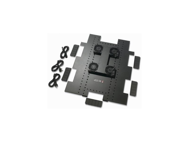 Вентиляционный блок APC Netshelter SX Roof Fan Tray 208-230 VAC 750mm ACF504 вертикальный кабельный органайзер apc vertical cable manager for netshelter sx 750mm wide 42u ar7580a