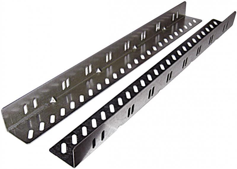 Картинка для ЦМО Комплект уголков опорных направляющих УО-75 для напольных шкафов глубина 750мм нагрузка до 50кг