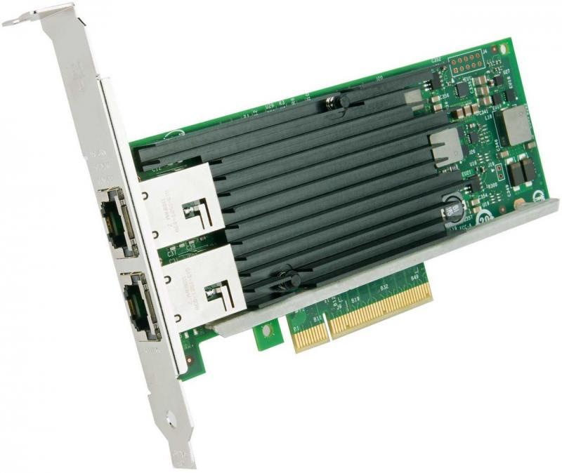 Сетевой адаптер Intel X540T2BLK 927245 сетевой адаптер intel x540t2