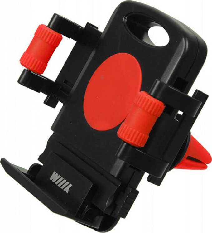 Автомобильный держатель Wiiix HT-WIIIX-01VR красный/черный держатели в авто wiiix держатель телефона смартфона ht s3k на козырек wiiix