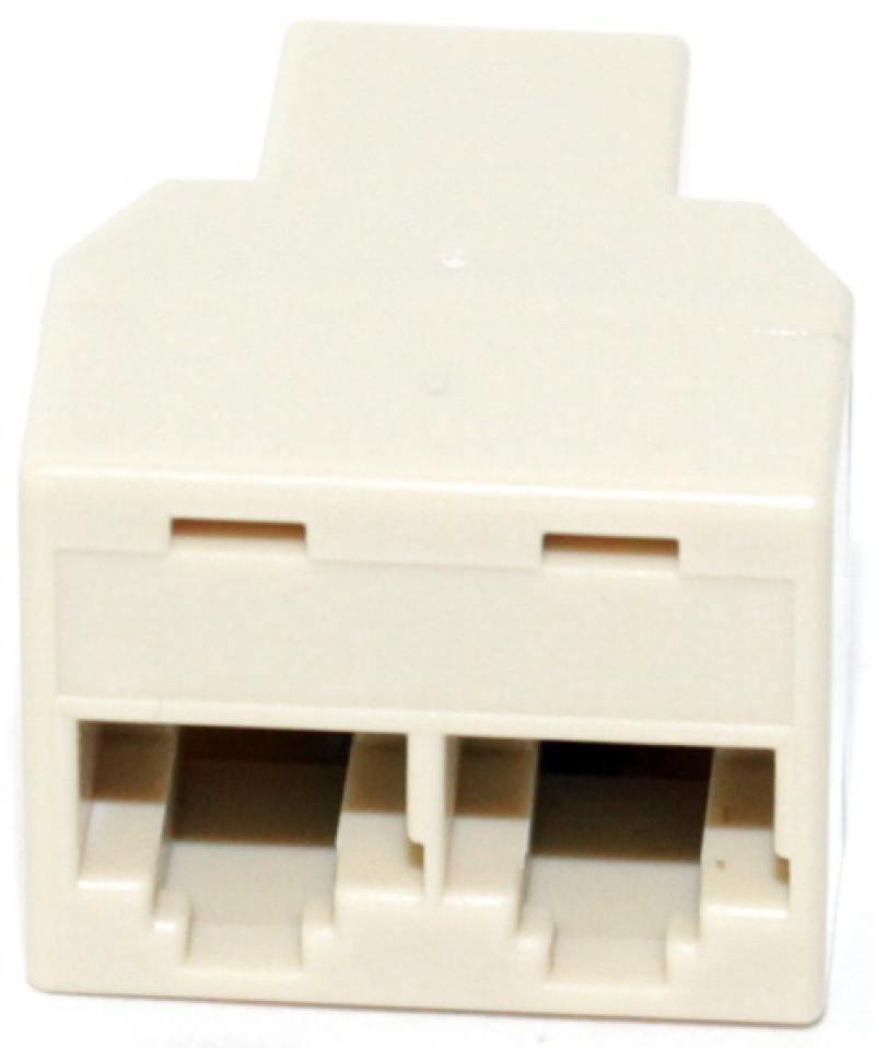 Адаптер проходной RJ-45 8P8C F/2F 5bites LY-US027 адаптер проходной rj 45 8p8c f 2f 5bites ly us027