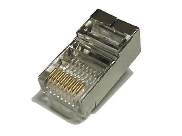 Разъем ITK RJ-45 FTP для кабеля кат.5Е 8P8C 20шт CS3-1C5EF_20pcs
