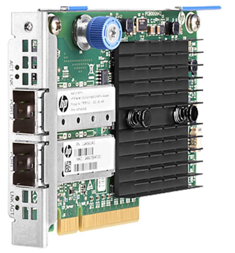 Адаптер HP 562SFP+ Ethernet 10Gb 2P 727055-B21 адаптер dell x710 intel dual port 10gb sfp 540 bbiv