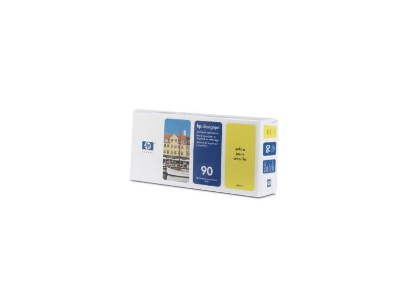 Печатающая головка + чистящая головка HP C5057A №90 для Designjet 4000 4000ps 4500 4500ps желтый головка ingersoll rand s64m26l ps1