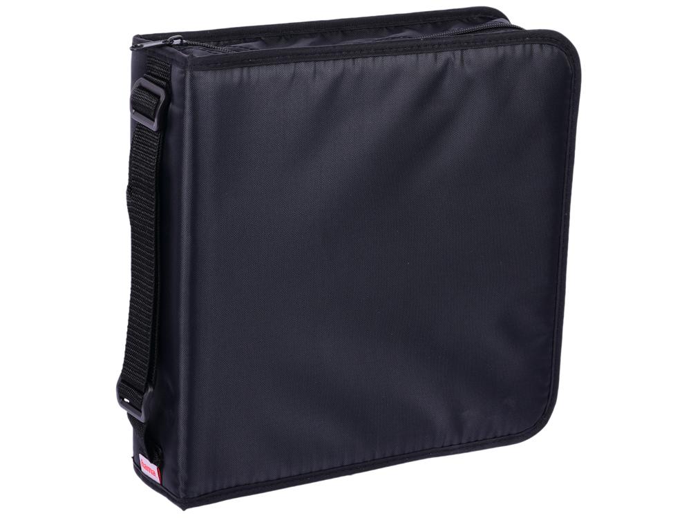Портмоне HAMA Nylon для 208 CD черный H-33835 цена и фото