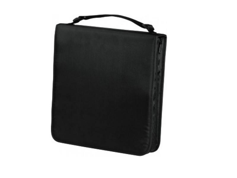 Портмоне HAMA Nylon для 160 CD черный H-33834 цена и фото