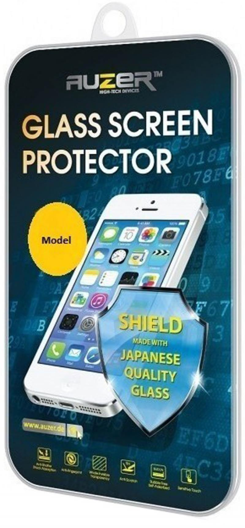 Защитное стекло Auzer AG-SAI 6 для iPhone 6 0.33 мм защитное стекло auzer ag ai7 apple iphone 7 plus