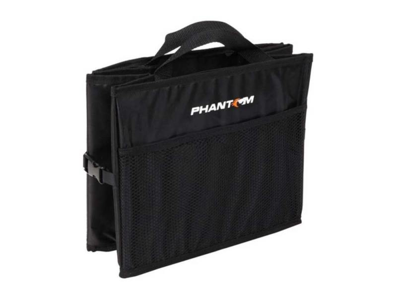 Органайзер Phantom PH5902 в багажник складной черный органайзер в багажник автомобиля зверобой zv org 031 s 54x38x26 см складной расцветка камуфляж