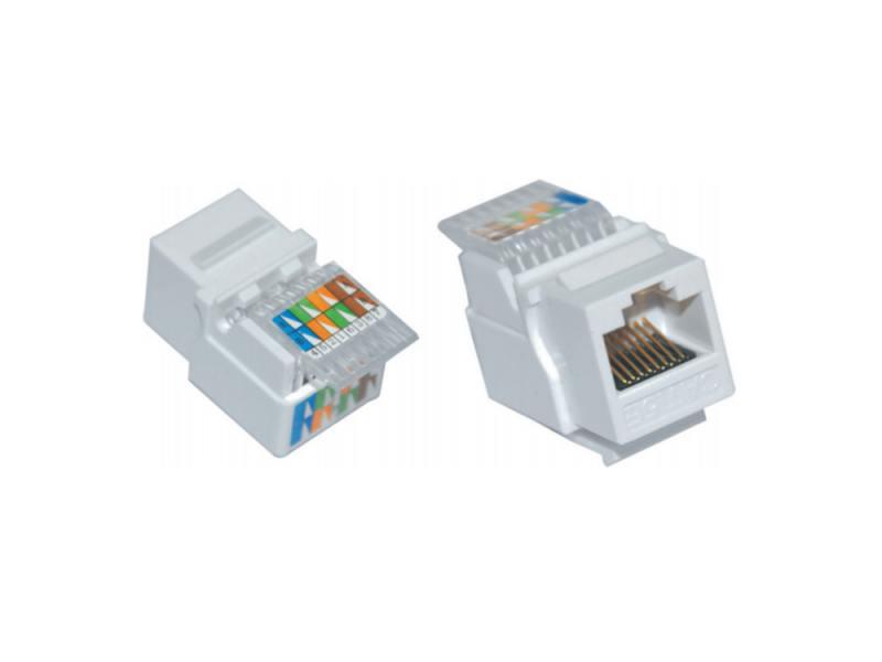 Модуль ITK Keystone Jack кат.5E UTP IDC Dual горизонтальная заделка CS1-1C5EU-D1 разъем itk rj 45 utp для кабеля кат 5е 8p8c cs3 1c5eu