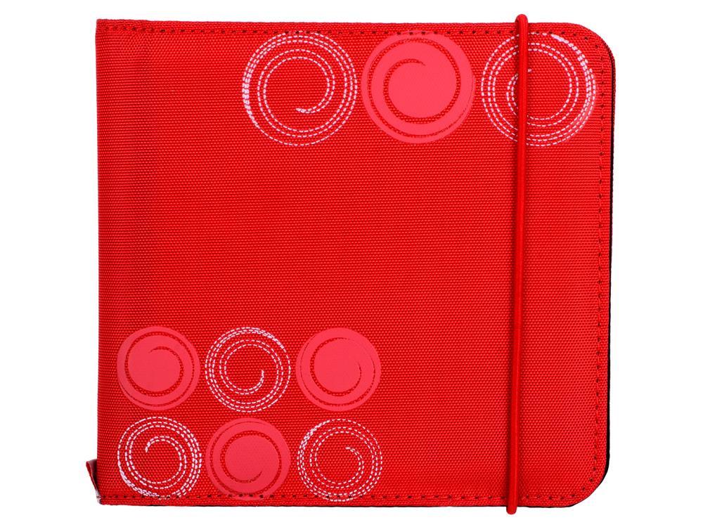 Портмоне HAMA Up to Fashion для 24 CD/DVD красный H-95669