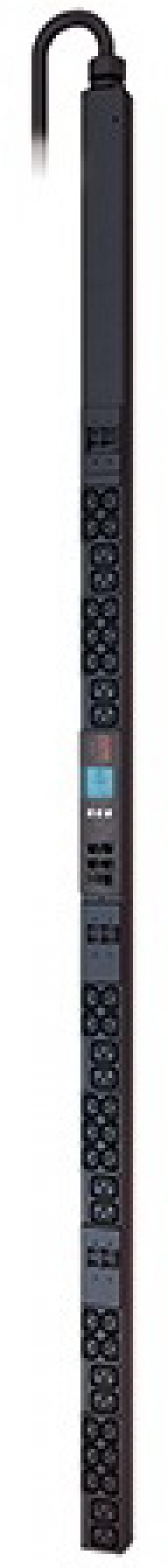 Блок распределения питания APC Rack PDU 2G Metered, ZeroU 22.0kW3 2A 230V 30 C13 & 12 C19 apc rack pdu 2g 32a 230v 36xc13 6 c19 ap8853