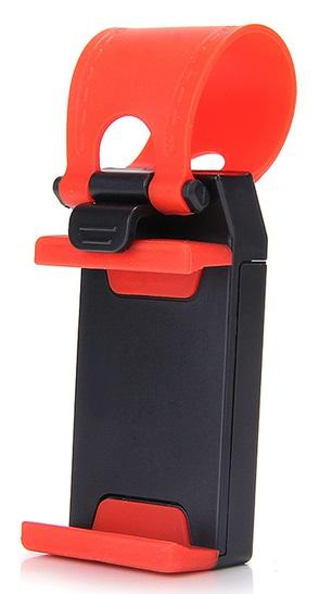 Автомобильный держатель Wiiix HT-20RR черный кабель lightning 1м wiiix круглый cb120 u8 10b