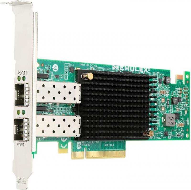 Адаптер Lenovo Emulex VFA5 2x10 GbE SFP+ Adapter and FCoE/iSCSI SW 00JY830