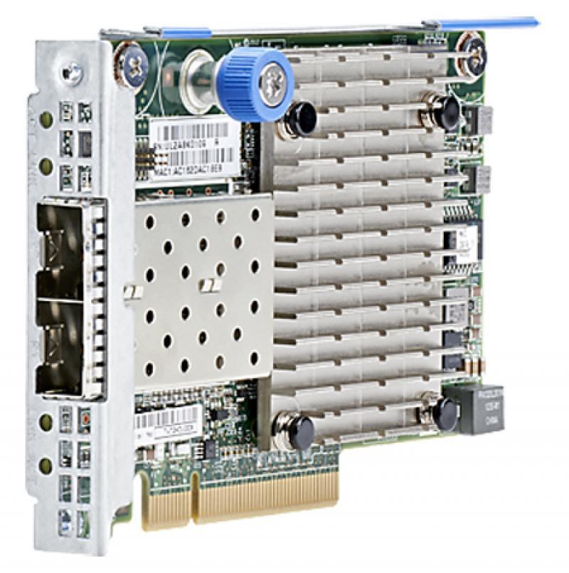 Адаптер HP 562FLR-SFP+ Ethernet 10Gb 2P 727054-B21 сетевая карта dell intel x520 10gb da sfp 2p i350 1gb network daughter 540 bbhj