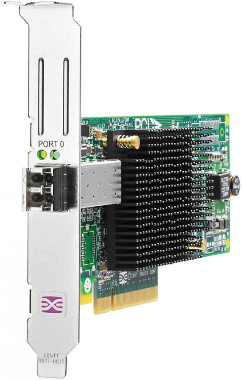 Адаптер HP FCA 81E 8Gb FC Host Bus Adapter PCI-E для Windows Linux AJ762B pci bus demystified