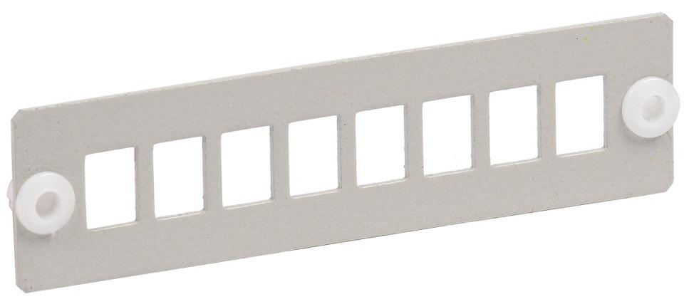 Патч-панель ITK FOBX-P8-SC фальш панель itk fp05 02u 19 2u черный