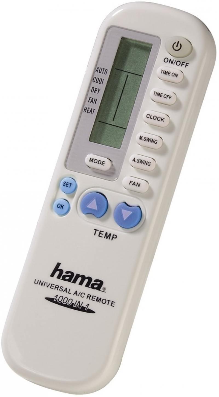Пульт ДУ Hama 40080 для кондиционеров пластик белый