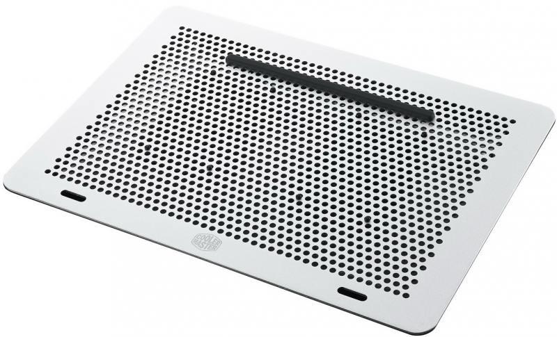 """Подставка для ноутбука до 17"""" Cooler Master MasterNotepal Pro MNY-SMTS-20FY-R1 пластик/алюминий сере"""