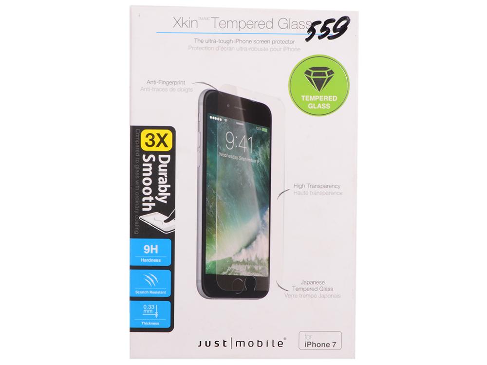 Защитное стекло ударопрочное Just Mobile SP-278 для iPhone 7 видеоигра для ps4 just dance 2018
