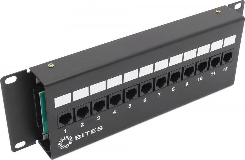 Патч-панель 5bites LY-PP5-48 UTP 5е кат 12 портов патч панель 5bites ly pp5 08 utp 5e кат 48 портов krone